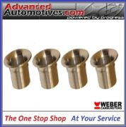 Weber 45 DCOE 16mm Long And 70mm OD Bellmouth Quality Set Of 4 From Webcon UK